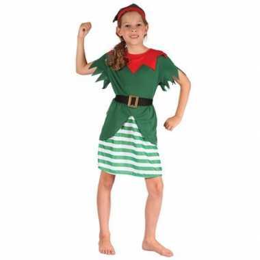 Kerst elf carnavalpak