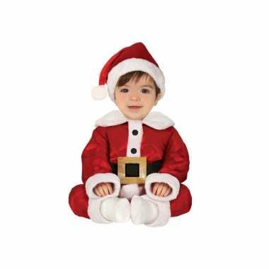 Kerstman baby verkleed carnavalpak 3 delig
