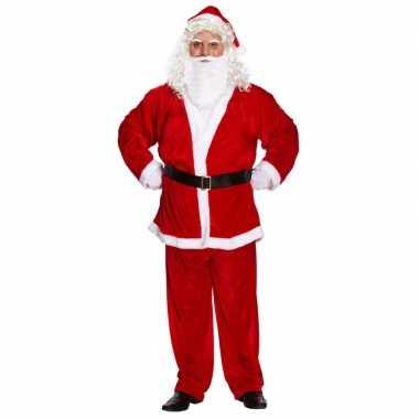 Kerstman carnavalpak xxl voor heren