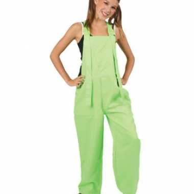 Kinder carnavalpakl fluor groen