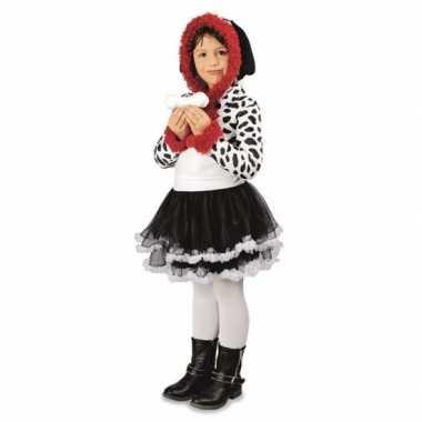 Meisjes dalmatier hond carnavalpak