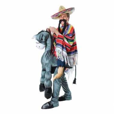 Mexicaan op een ezel carnavalpak