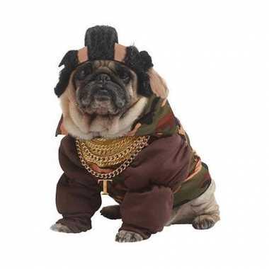 Mr t carnavalpak voor honden