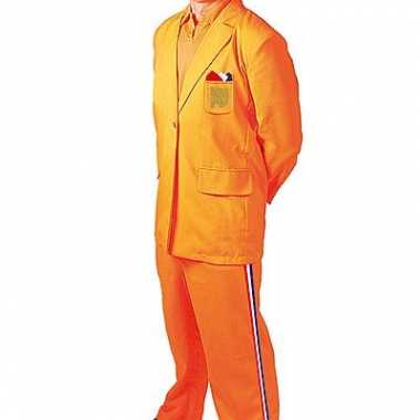 Oranje carnavalpak bobo
