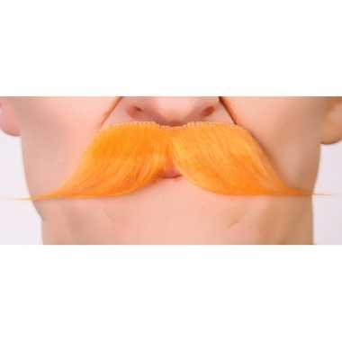 Oranje koningsdag carnavalpak accessoire plaksnorren