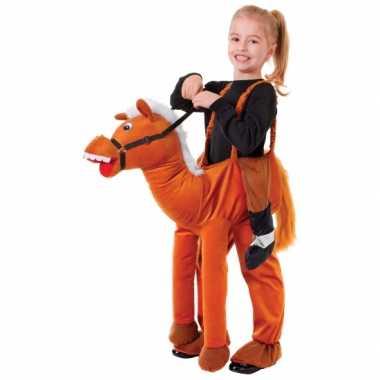 Paardrij carnavalpak voor kinderen