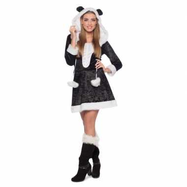 Panda dieren carnavalpak voor dames