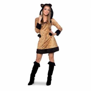 Panter dieren carnavalpak voor dames