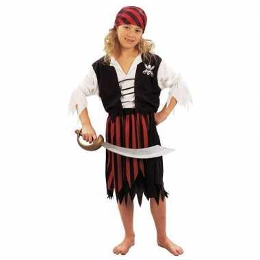 Piraten carnavalpak voor meiden