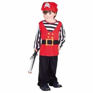 Piraten carnavalpak voor peuters