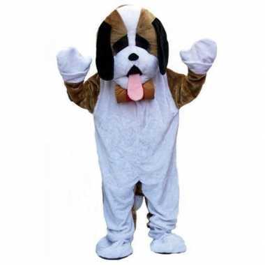 Pluche honden carnavalpak