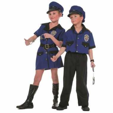 Politie carnavalpak meisje