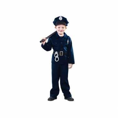 Politie verkleed carnavalpak voor kinderen