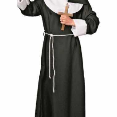 Religieus nonnen carnavalpak voor dames
