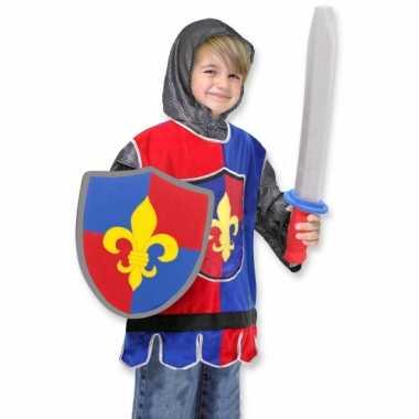 Ridder carnavalpak voor jongens