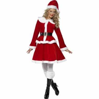 Rode kerst carnavalpak voor vrouwen