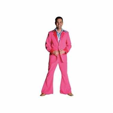 Roze verkleed carnavalpak pak