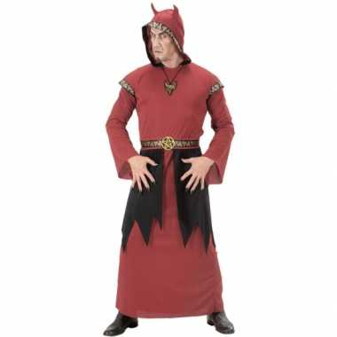 Satan carnavalpak voor heren