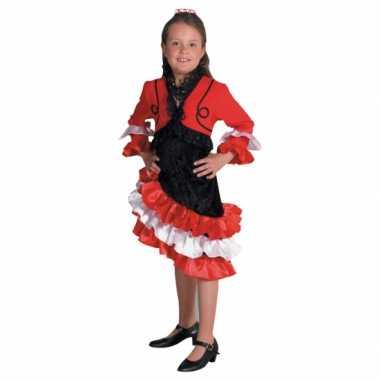 Spaanse carnavalpak voor meisjes