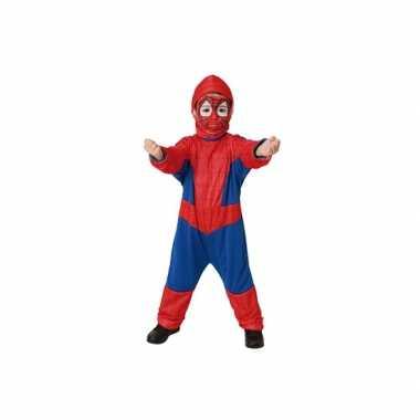 Spinnen held verkleed carnavalpak voor kinderen