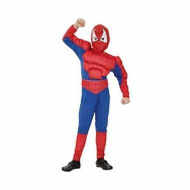 Spinnenheld carnavalpak voor jongens