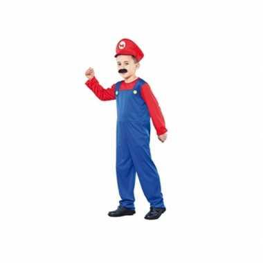 Super Loodgieter carnavalpak voor een kind