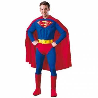 Superheld Superman carnavalpak heren