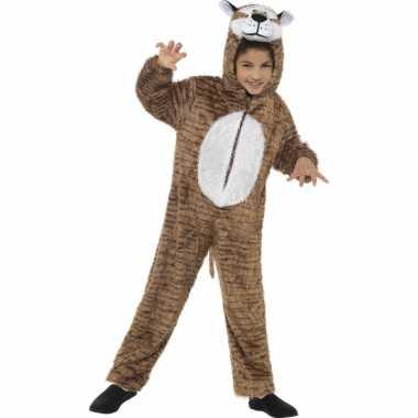 Tijger dieren carnavalpak kind