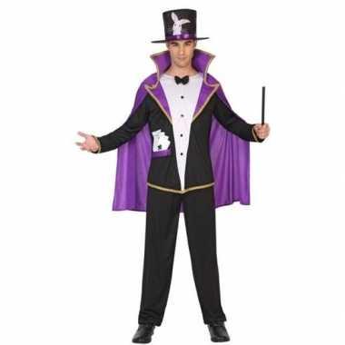 Tovenaar/goochelaar carnavalpak voor volwassenen