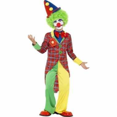 Verkleed carnavalpak clown voor kinderen