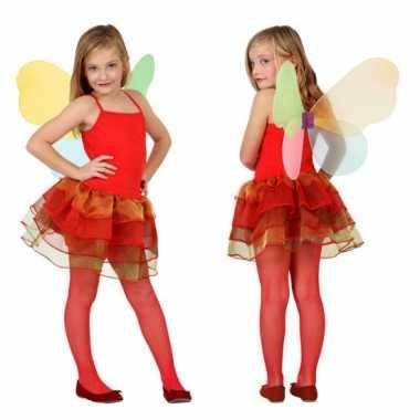 Vlinder carnavalpak voor meisjes