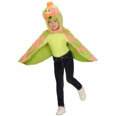 Vogel carnavalpak cape voor kids