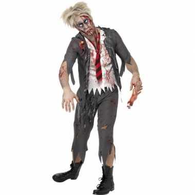 Zombie schooljongens carnavalpak