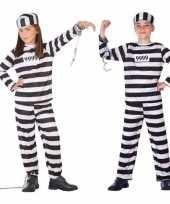 Boef boeven verkleed pak carnavalpak voor kinderen