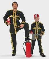 Brandweer carnavalpak kind